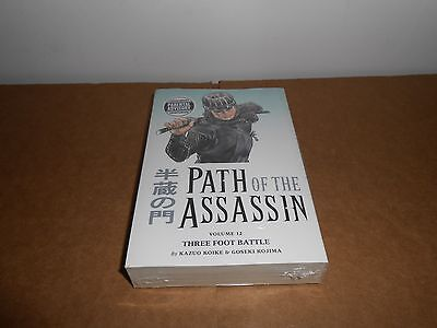 Path Of The Assassin  Vol  12 Manga Graphic Novel Book In English