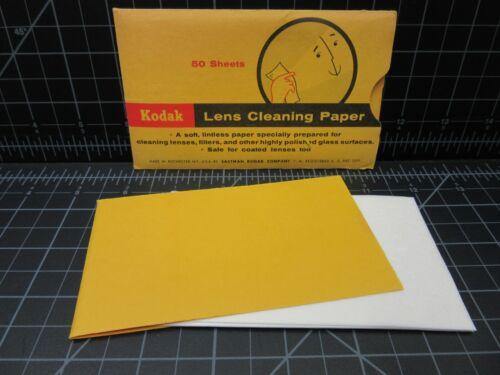NEW - Kodak Lens Cleaning Paper 50 Sheets - Soft Lintless Paper
