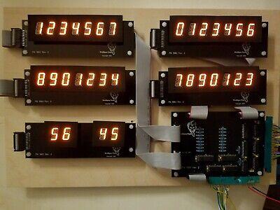 Williams System 7 or 9 DIY Display kit - Wolffpac - Orange digits