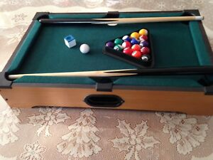 Petite table de pool