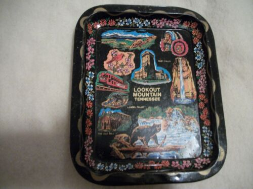 Souvenir tin plate Lookout Mountain Tennessee