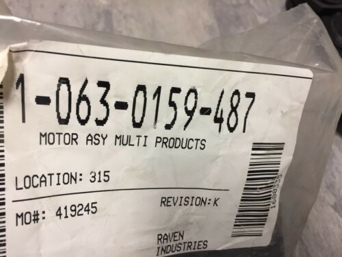063-0159-487 RAVEN MOTOR ASY MULTI PRODUCTS