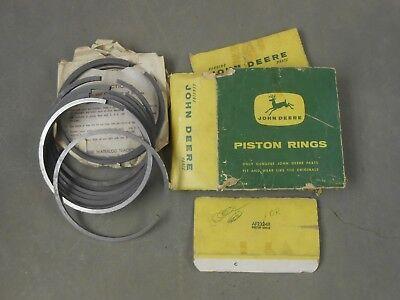 Nos Af2224r Standard Piston Ring Set John Deere 70 80 730 830 Diesel Tractor