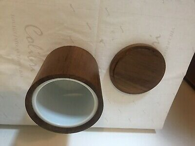 Wooden Storage for dry food with Ceramic Inner Base
