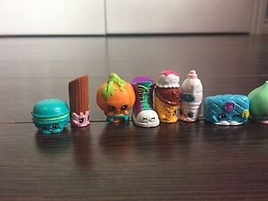 Shopkins collection 60+ pieces