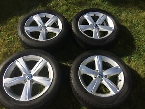 VW Passat Winter Tires & OEM Mags 17""