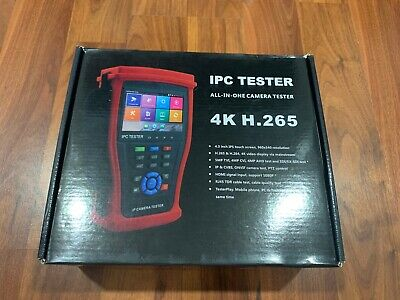 Hdview 5-in-1 Touchscreen Poe Cctv Tester New