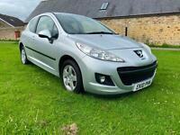 2010 Peugeot 207 1.4 Verve 3dr HATCHBACK Petrol Manual