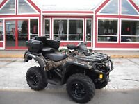2016 CAN-AM OUTLANDER XT BACKSEAT!! FENDER PROTECTOR AND PEGS!!  Moncton New Brunswick Preview
