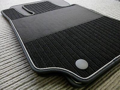 Lengenfelder Rips Fußmatten für Mercedes Benz W164 ML M-Klasse X164 GL + NUBUK