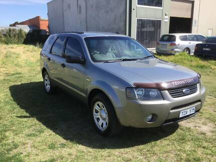 2005 FORD TERRITORY AUTOMATIC. 3 YEARS WARRANTY & 1 YEAR ROADSIDE Dandenong Greater Dandenong Preview