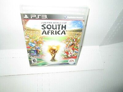 2010 FIFA WORLD CUP SOUTH AFRICA Playstation 3 Game PS3 Soccer Complete MINT  comprar usado  Enviando para Brazil