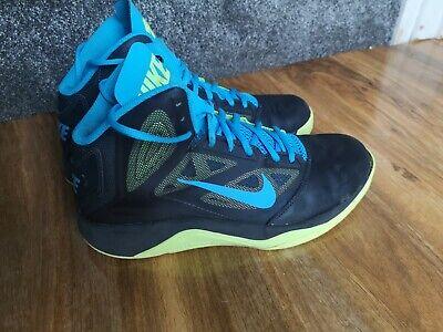 Nike Dual Fusion Basketball shoes, size 8.5 UK Bargain 610202-007