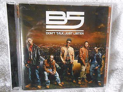B5 Don'T Talk Just Listen CD von Bad Boy Records 2007