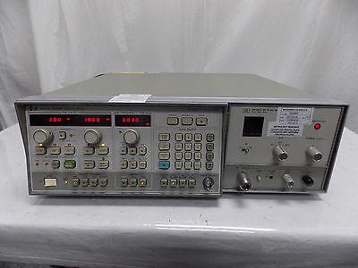 Hp Agilent 8350b Sweep Oscillator W 86290c Rf Plug In Calibrated Sticker