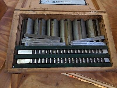 Machinist Tools Minuteman Standard 40 12a Broach Set Dumont Corporation