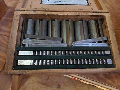 Machinist Tools Minuteman Standard 40 12a Broach Set Dumont Corporation