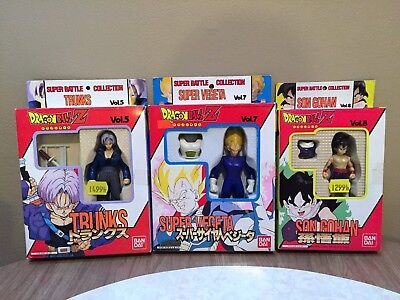 Dragon Ball Z GT Heroes Super Battle Collection Trunks S Vegeta Son Gohan 5 7 8