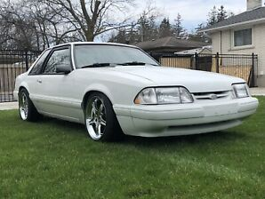 Mustang fox body coupe