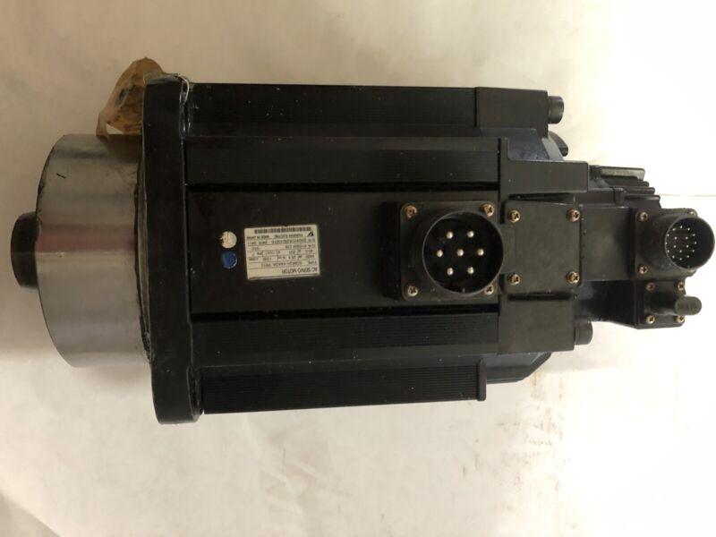 Yaskawa Sgmgh-44a2a-yr15 Ac Servo Motor, 200 Vac, 1500 Rpm,boxzn,ar