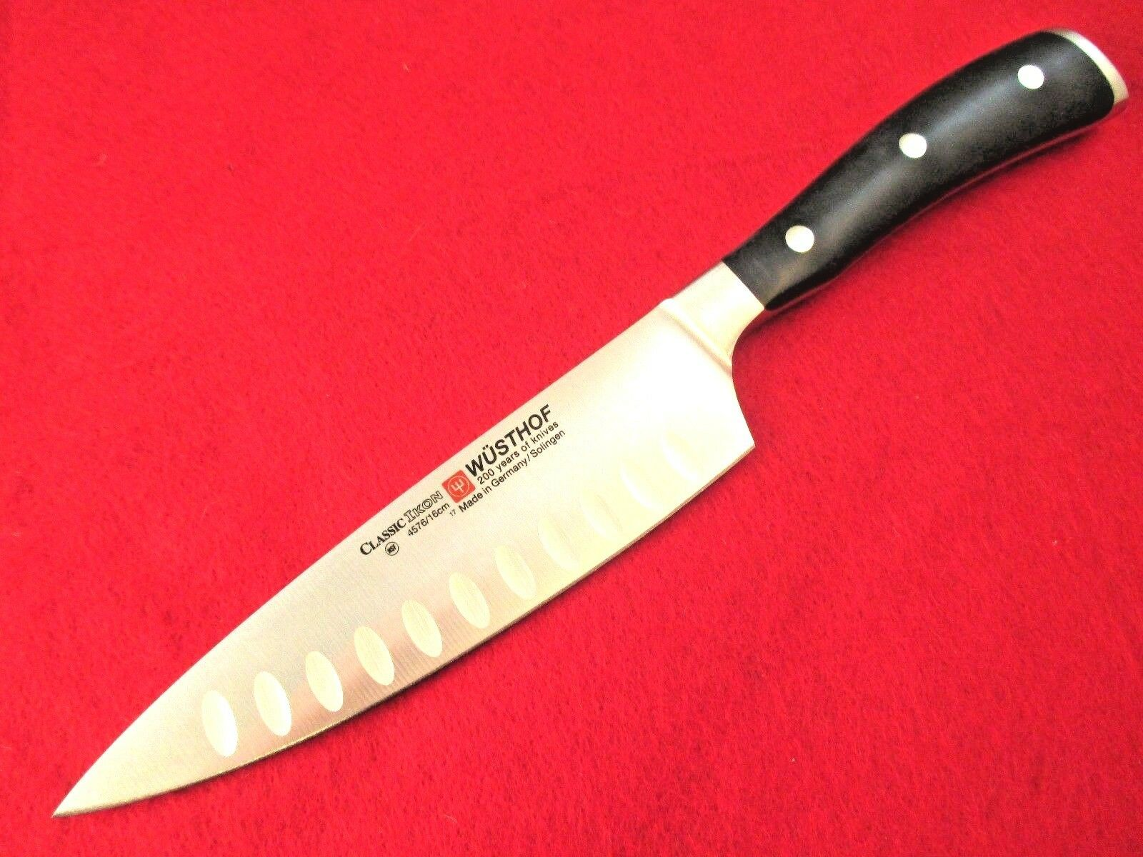 Wusthof Classic Ikon Hollow Ground 6 inch Cooks, Chefs Knife