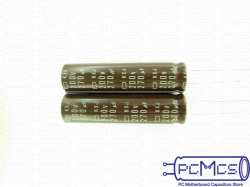 10 x Rubycon ZL series 6.3V 2200UF High ripple current Low impedance Capacitor L