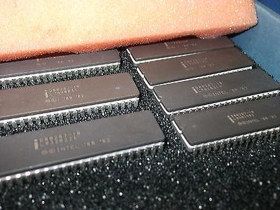 Qty-1 D80287-10 Intel D80287 Alu Vintage Ic 40-pin Cerdip Last Ones Rare Nos