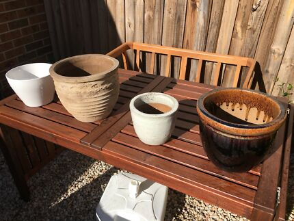 Variety of plant pots - $20 each