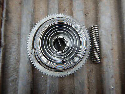 Older Delta Rockwell 15 Drill Press Geared Quill Return Spring Assembly