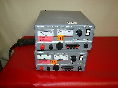 Tenma 72-630a 15v 30 Amp 10 Amp Linear Regulated Dc Power Supply -tested Ham