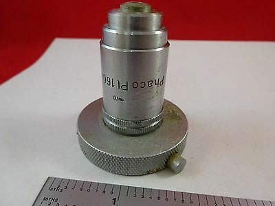 Microscope Part Objective Leitz Phaco Pl 160x Optics As Is Bink8-b-10