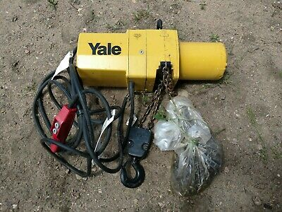 New Yale 2 Ton Yjl4008 15 Ft Electric Chain Winch Lifting Hoist Yjl Three Phase