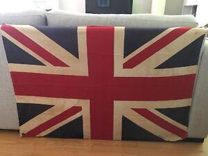 Antique Union Jack flag