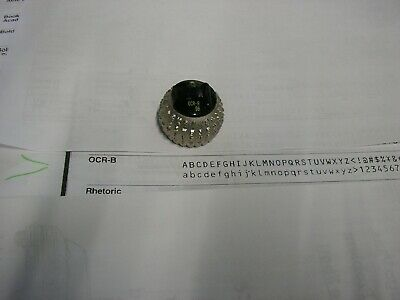 Ibm Selectric Iii Typewriter Element Ocr B 2032 96 See Pics Of Print