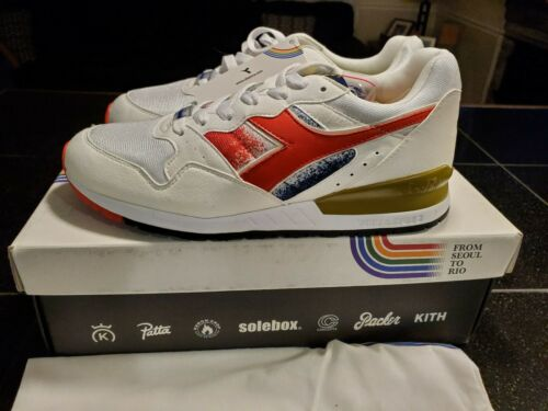 Diadora Intrepid From Seoul To Rio By KITH Packer Conecepts SOLEbox Patta Hanon