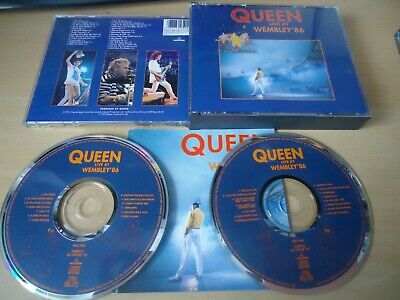 Queen - Live at Wembley 1986 86 DOUBLE CD Album - FAST FREE UK P&P
