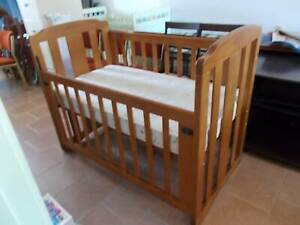 BABY ITEMS -- COTS, CHANGE TABLE, CRADLE, MATTRESS, HIGH CHAIRS