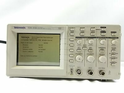 Tektronix Tds210 Digital Oscilloscope