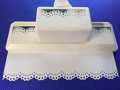 Martha Stewart Doily Lace Edge Punch   Limited Time Free Shipping