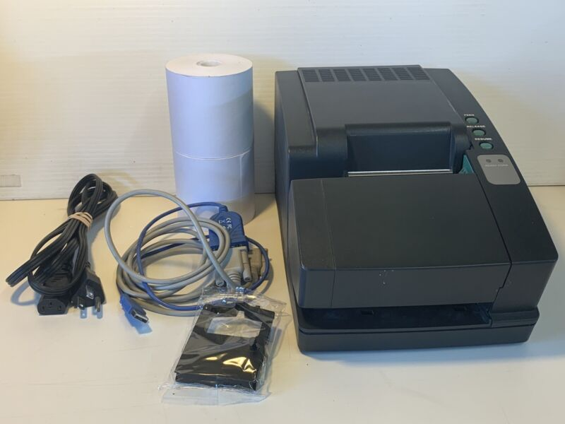 Ithaca series 90 plus receipt printer MOD 94 PLUS extras TESTED & WORKS GREAT