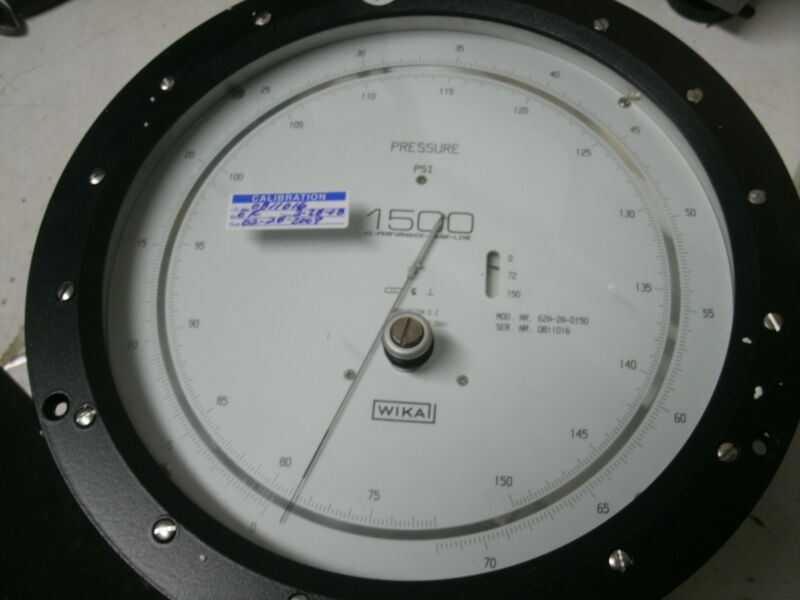 NEW WIKA 150 PSI DIFFERENTIAL PRESSURE GAUGE 1500 SERIES 1500-85G 62A-2A-0150