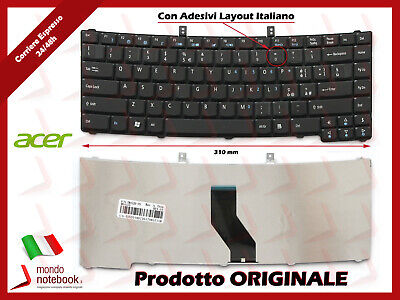 Tastiera per Acer Travelmate 5520 - 5520G - 5720 - 5720G con...