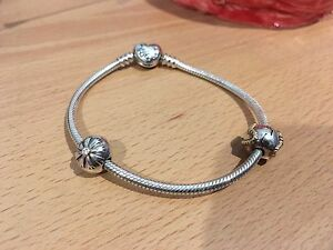 Pandora bracelet with 2 charms Richmond Hawkesbury Area Preview