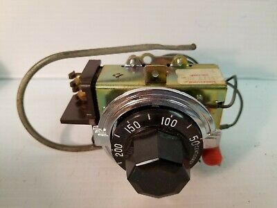 Commercial Electric Thermostat Robertshaw Se5120-001 Spst 50-300f 30a 120-