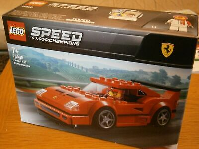 LEGO 75890 Speed Champions Ferrari F40 Fast Competizione Toy Car Building Kit
