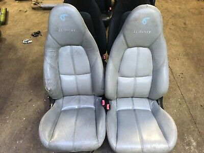 Mazda Mx5 set of  Grey Triology leather seats  ( A6 )