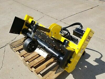 Nortec Soil Processor Like A Harley Rake 4 Foot For Mini Skid Steer Hitch
