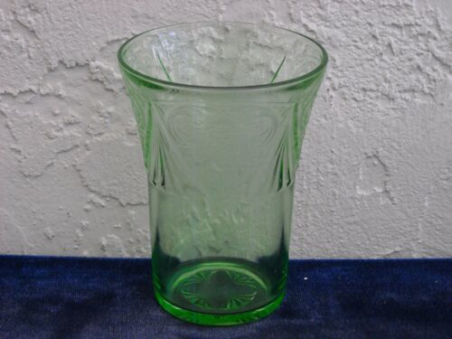 Royal Lace Water Tumbler  Green