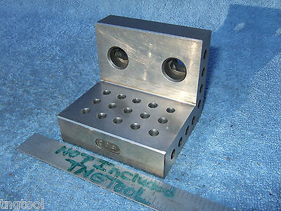 Angle Plate 3x3 Inch Machinist Toolmaker Watchmaker Hard Grind Fixture Inspect