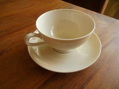 Thomas Ivory , Kaffee- Teetasse , Elfenbein , feines dünnes Porzellan , wie NEU